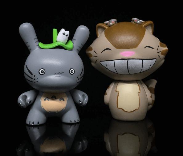 Totoro 3inch Catbus Dorbz By Shinobistinks