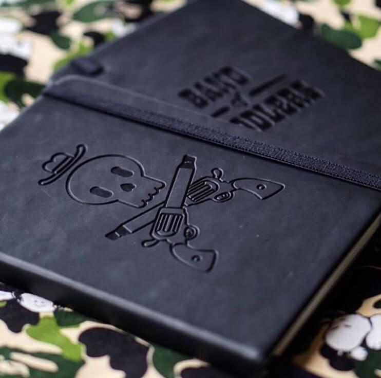 band of doodlers sketchbook