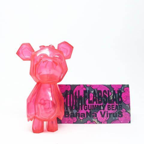 flabslab-x-banana-virus-loic-bear-gummy-bear-pink