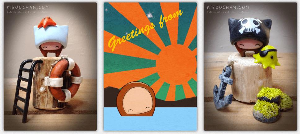Greetings from Series By Kiboochan 2016
