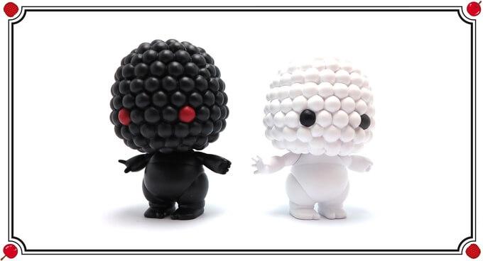 Berry Black & White Version