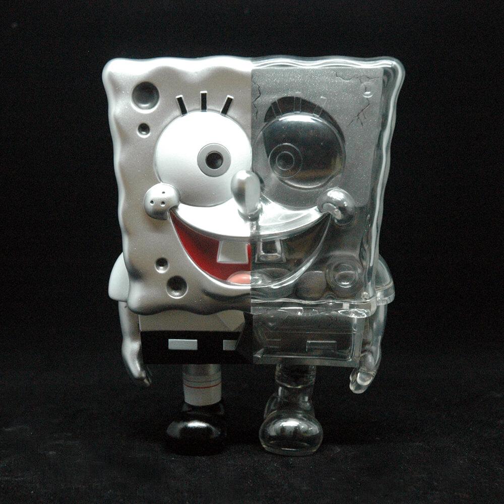 spongebob-dxsplit-silver-by-secret-base-x-toy-art-gallery