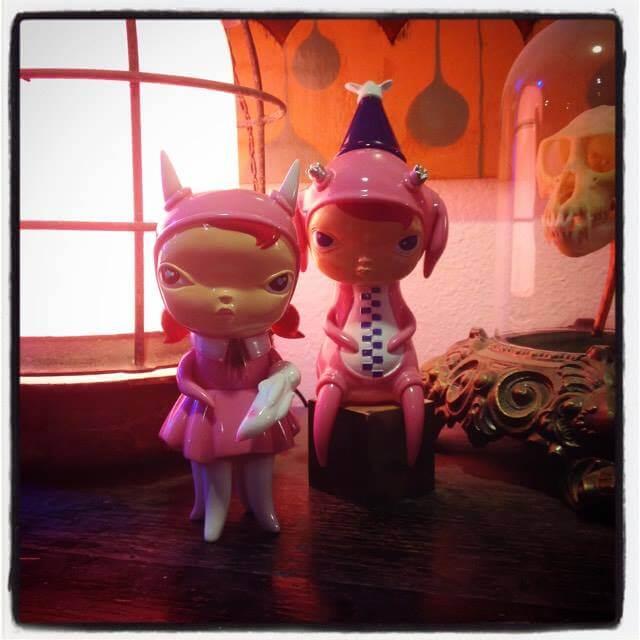 Circus Posterus DesignerCon pink sofubi