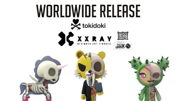 """Mighty Jaxx XXRAY Tokidoki 4/"""" Unicorn Dolce Jason Freeny"""