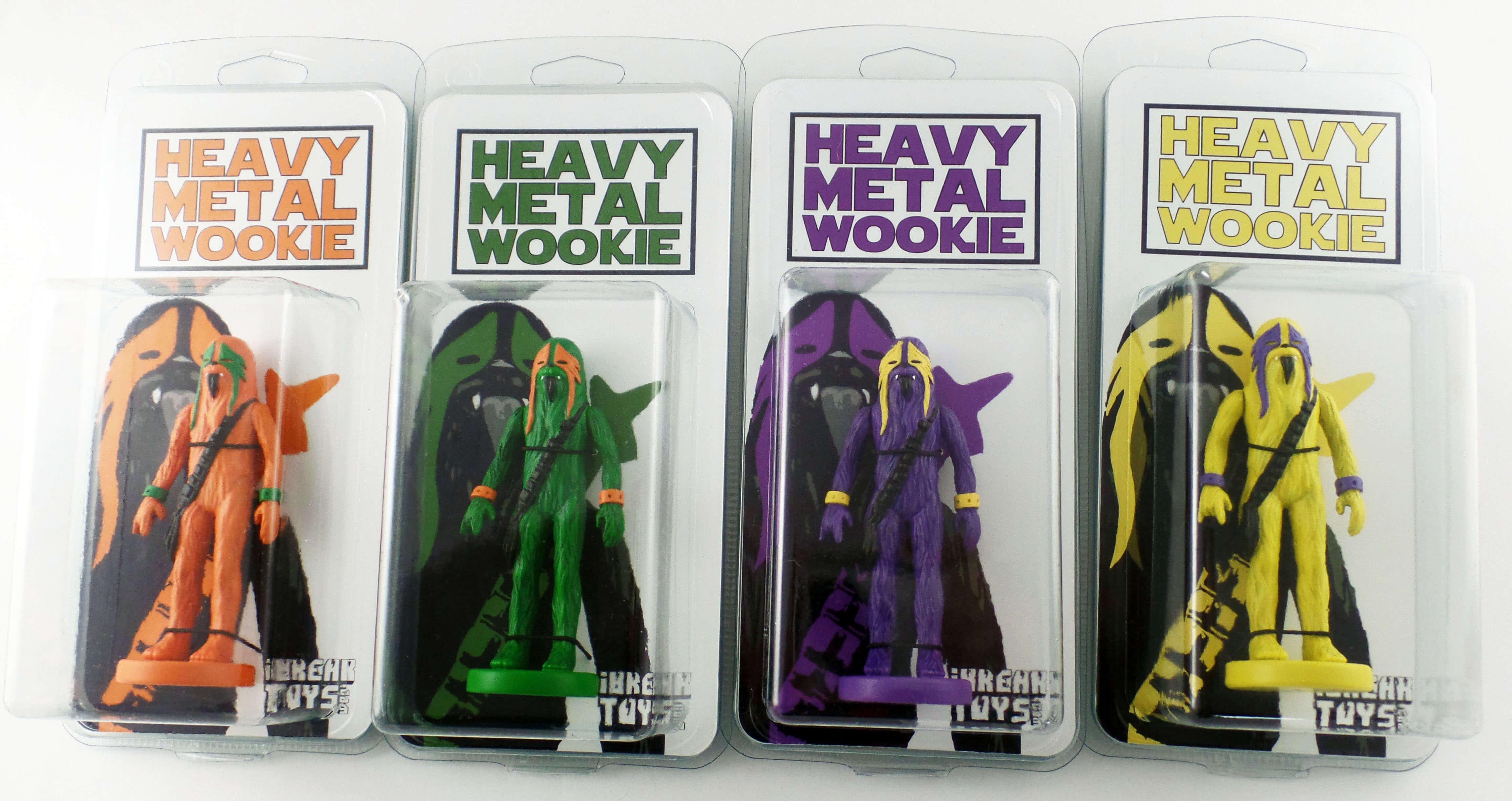 Heavy Metal Wookie Packaging