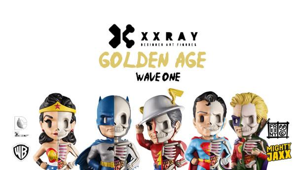 Jason Freeny XXRAY SUPERMAN Wave 1 Dissection Toy Vinyl Mighty Jaxx Brand New
