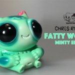 Fatty Wooper Minty edition By Gary Ham x Chris Ryniak sofubi TTC banner