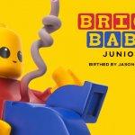BRICK BABY Junior By Jason Freeny x Mighty Jaxx Mini fig LEGO