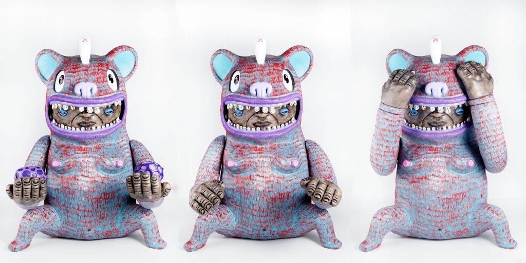 Bear In Mind Triptych