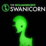 Bioluminescent Swanicorn By Daniel Fleres resin 2017