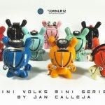 Mini Volks Dunny Series By Jan Calleja x Corner12