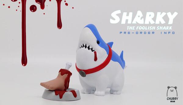 SHARKY The FOOLISH SHARK By CHUBBY BEAR STUDIO Pre-order Info