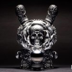 SILVER Clairvoyant Dunny By JRYU x Kidrobot TTC