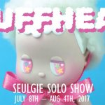 Seulgie Solo show PUFFHEAD at Clutter Gallery