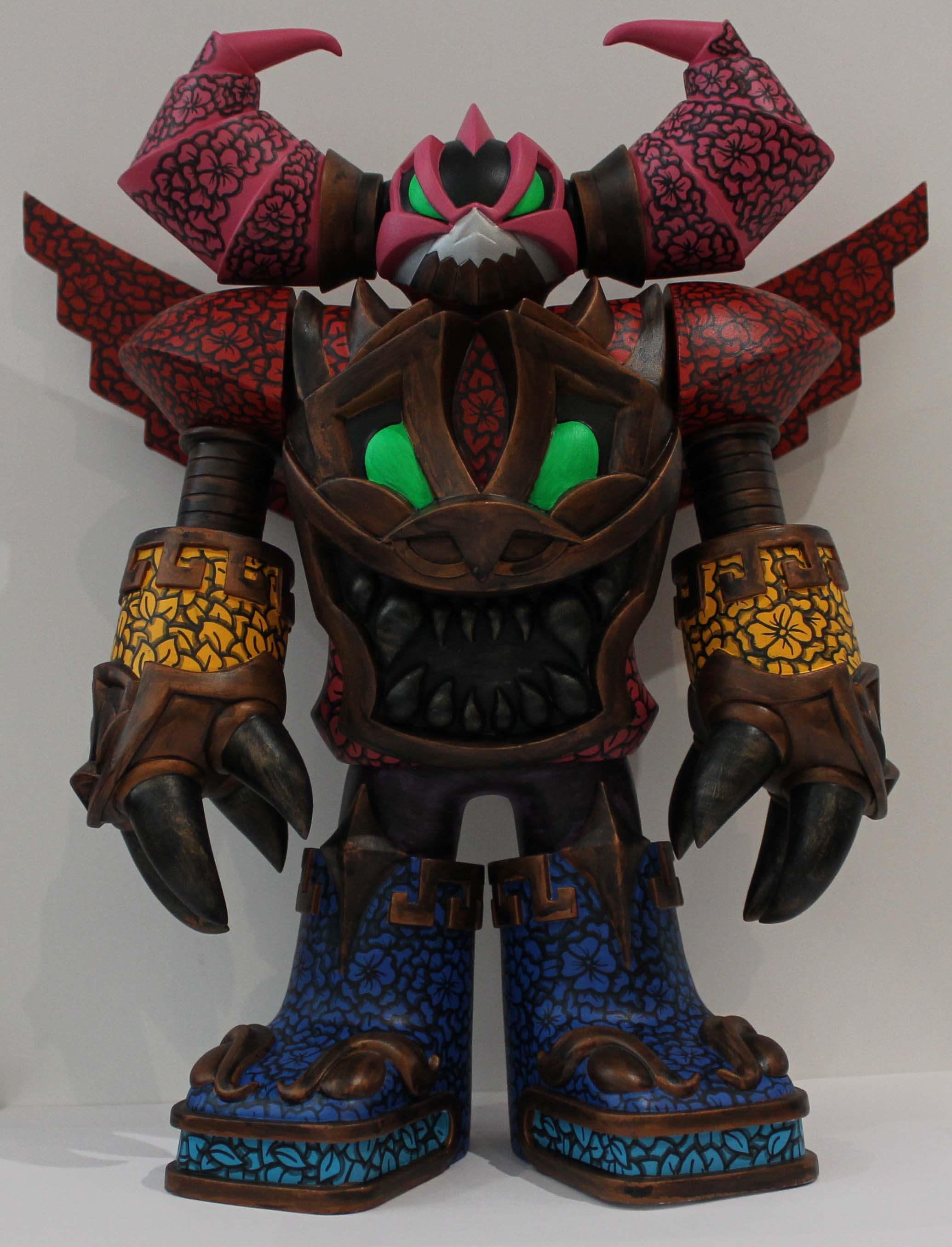 mecha azteca robot