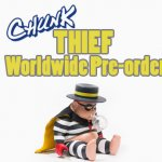 CHUNK Thief Edition By Jim Dreams x Unbox Industries Worldwide PRE ORDER
