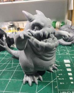 Gluttonous Kaiju By CMJ Toys Chris M Johnson Vini Chav Art 3D