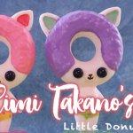 Little Donut Kitties by Eimi Takano