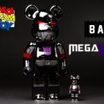 Medicom x Bait Megatron Bearbrick featured