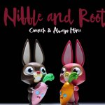 Nibble and Root SDCC Edition By COARSE x Play House TTC