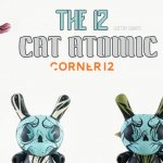 The 12 Custom Dunny By Cat Atomic x Corner12