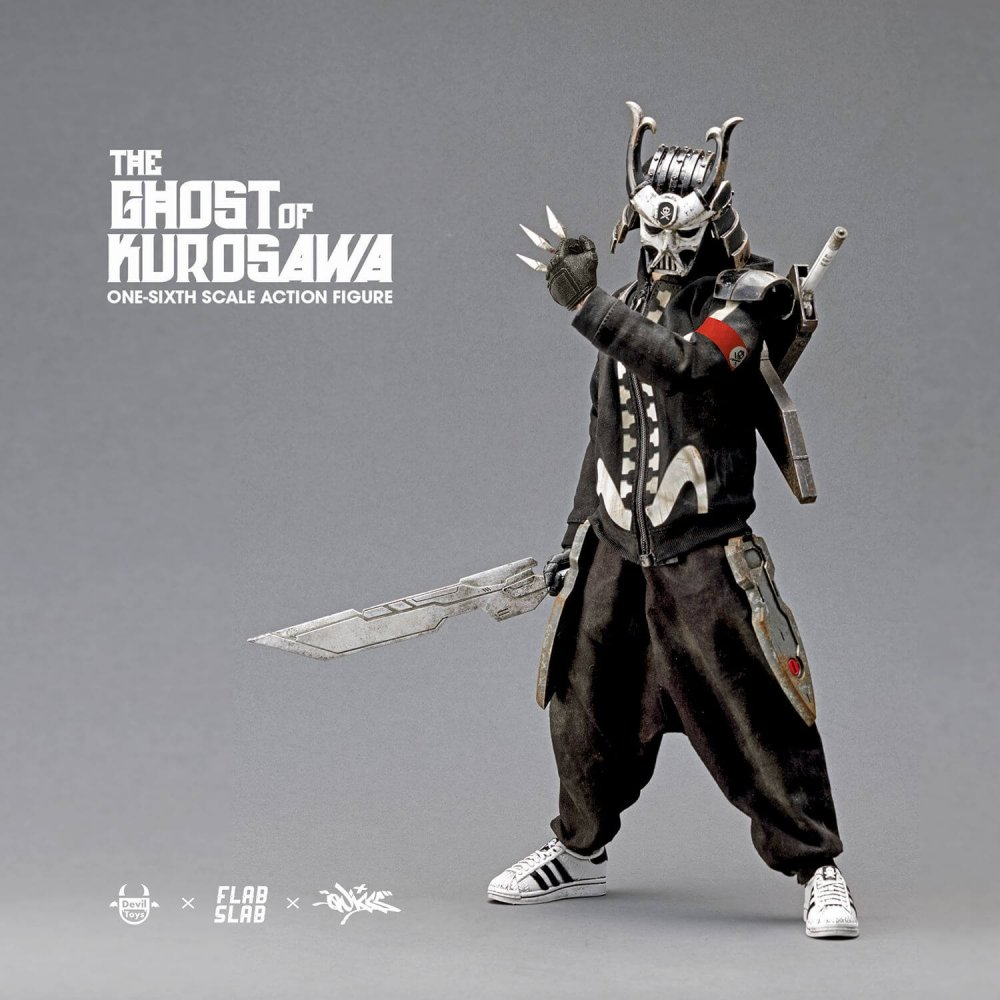 The Ghost of Kurosawa onesix Scale Action Figure Quiccs x FLABSLAB x Devil Toys full