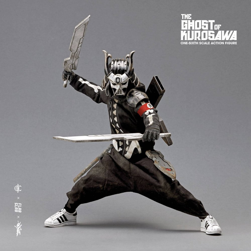 The Ghost of Kurosawa onesix Scale Action Figure Quiccs x FLABSLAB x Devil Toys full 52