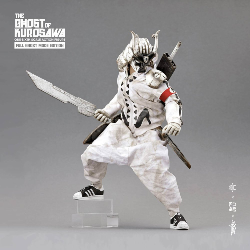 The Ghost of Kurosawa onesix Scale Action Figure Quiccs x FLABSLAB x Devil Toys full ghost MODE