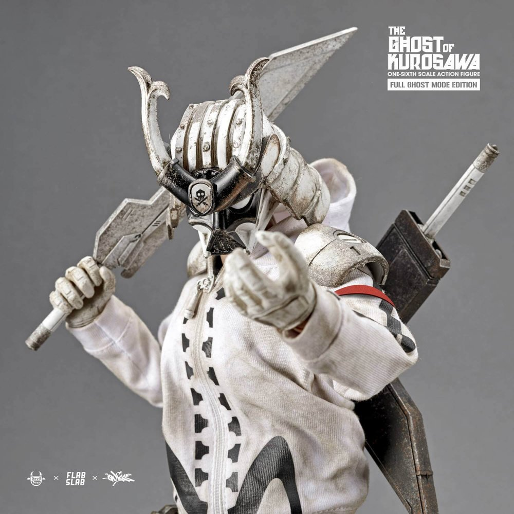 The Ghost of Kurosawa onesix Scale Action Figure Quiccs x FLABSLAB x Devil Toys full ghost mode TTC