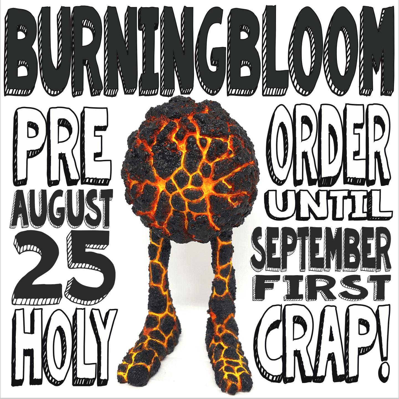 Burning Blooms By Kyle Kirwan release resin