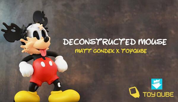 Deconstructed Mouse By Matt Gondekx ToyQube