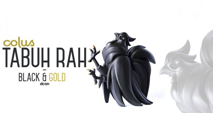 Tabuh Rah - Black and Gold By Colus The Toy Chronicle DCon 2017 resin