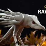 White Ravenous Raven Exclusive By Colus x Kidrobot