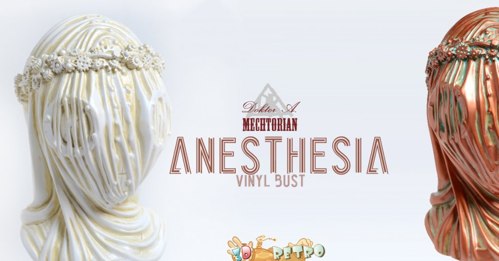 ANESTHESIA BUST WHITE EDITION BY DOKTOR A X 3DRETRO