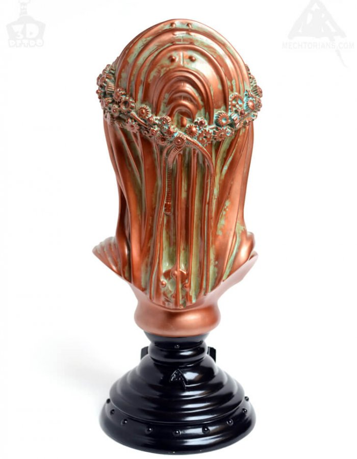 Anesthesia Vinyl Bust By Doktor A x 3D Retro back bronze
