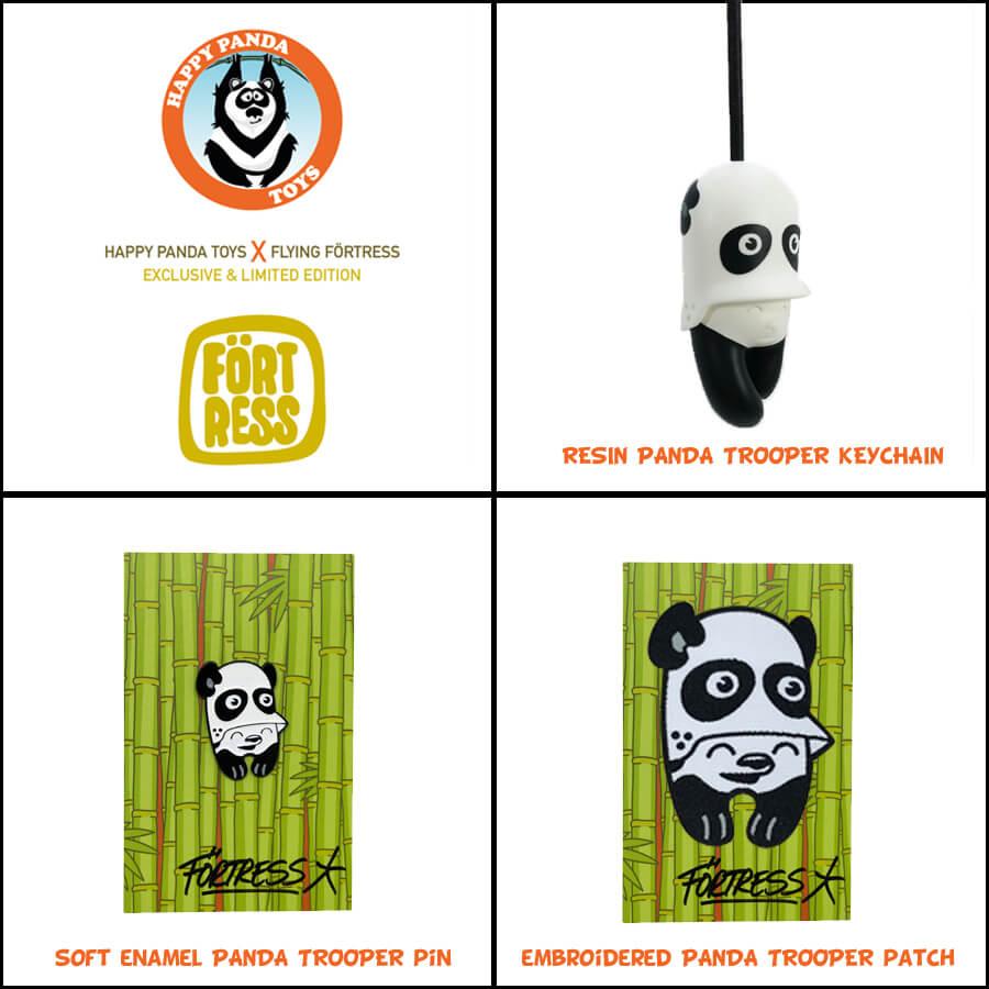 Panda Trooper Set