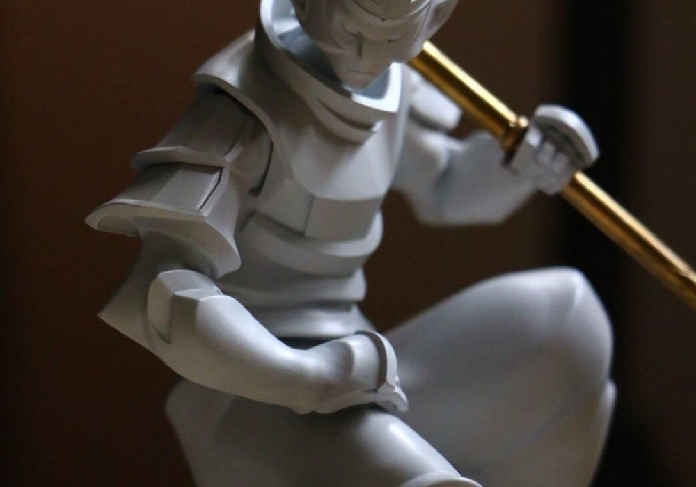 WUKONG resin model by Dinsai FULL BRASS