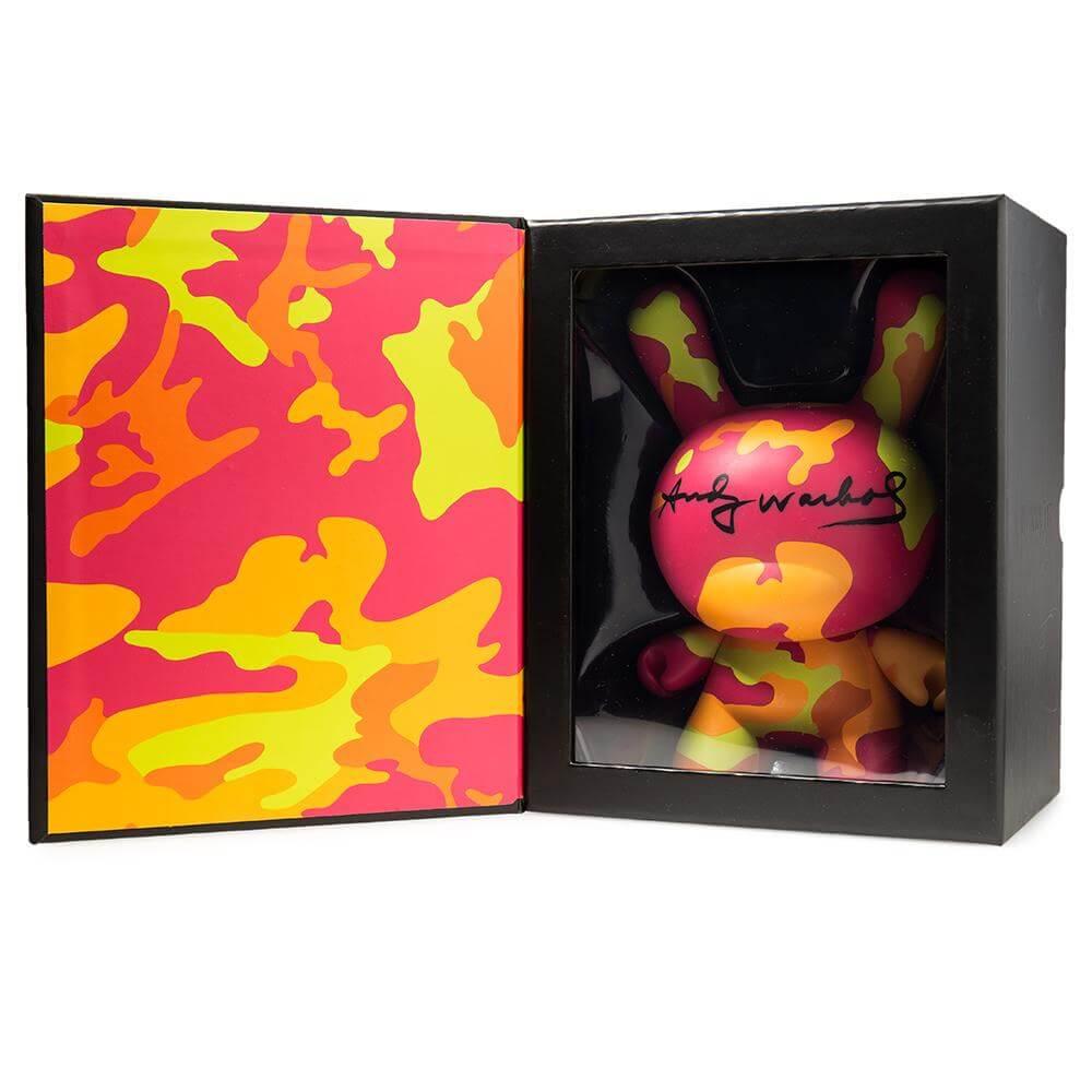 Warhol-8in-CamoDunny-Kidrobot-Box