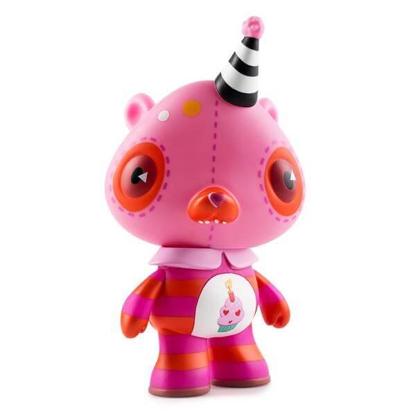 vinyl-care-bears-pink-birthday-bear-art-figure-by-kathie-olivas