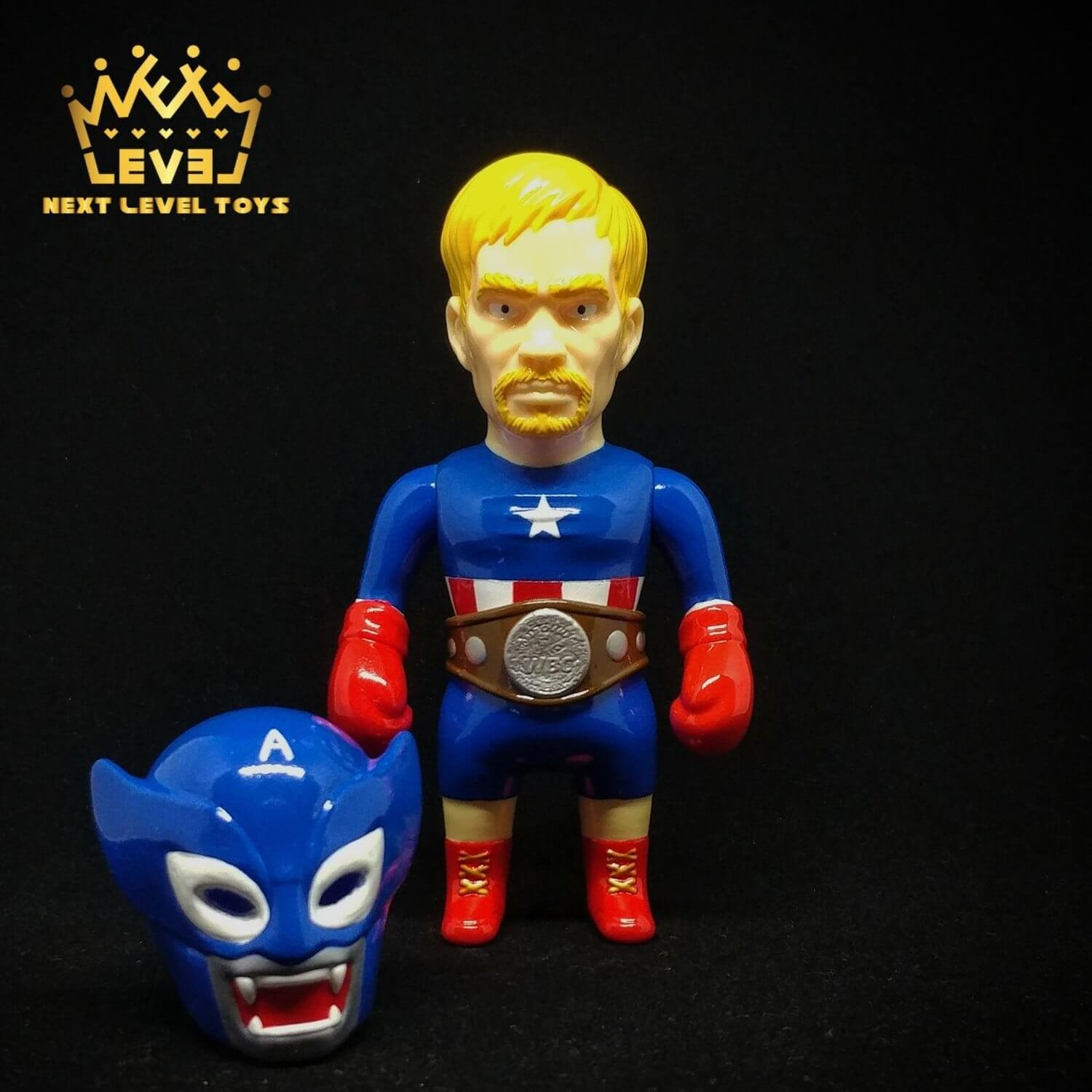 FIGHT OF THE CENTURY SET AMERICA HEROS COLOR VER. 4
