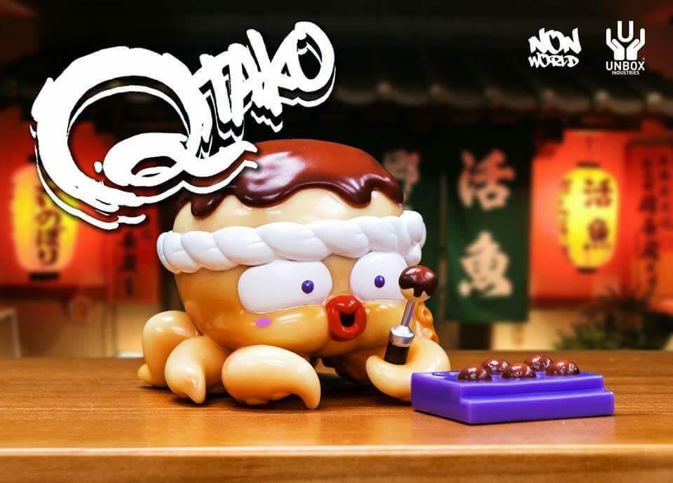 QTAKO Red by NONWORLD x Unbox Industries 6 inch vinyl figure