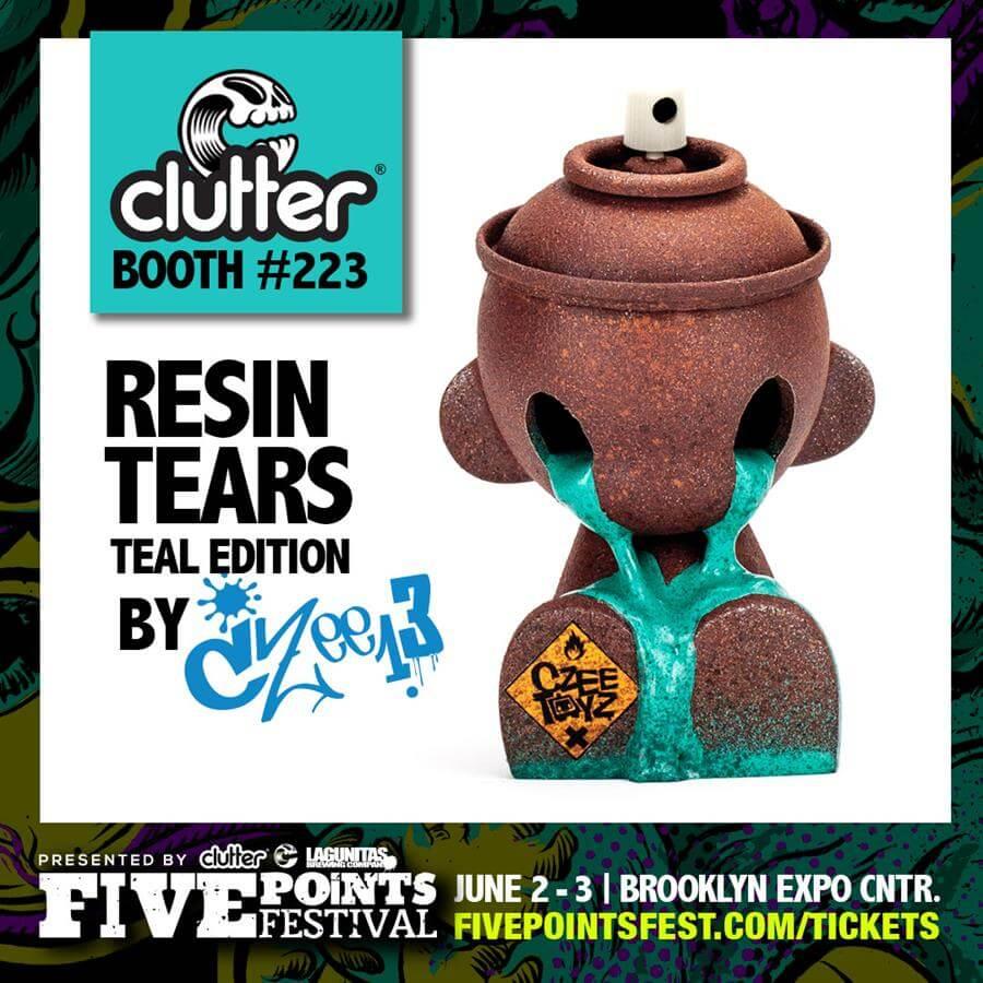 resin-tears-teal-czee13-clutter-five-points