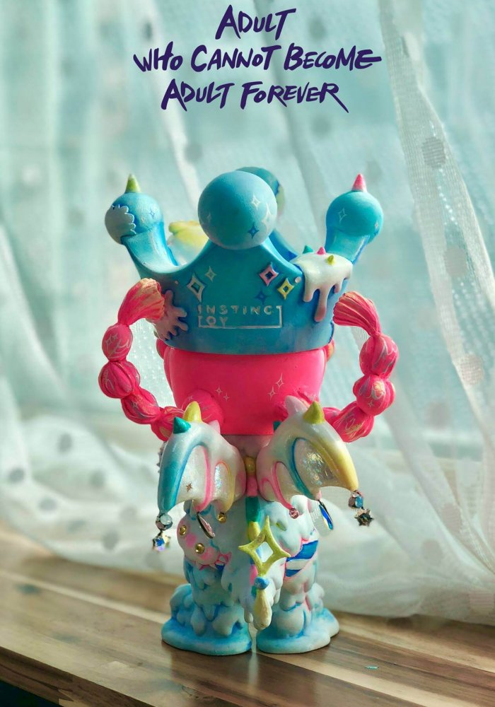 Adult who cannot become adult forever Erosion Molly By rakTANG x Kennyswork x Instinctoy back