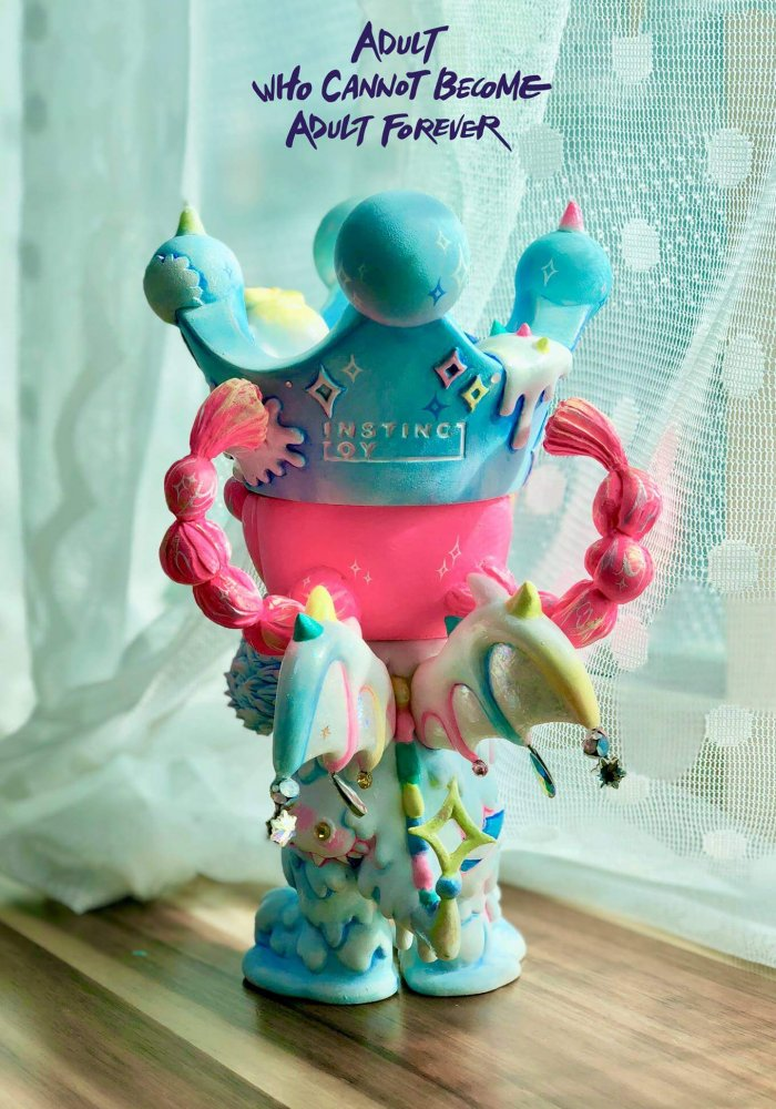 Adult who cannot become adult forever Erosion Molly By rakTANG x Kennyswork x Instinctoy close up