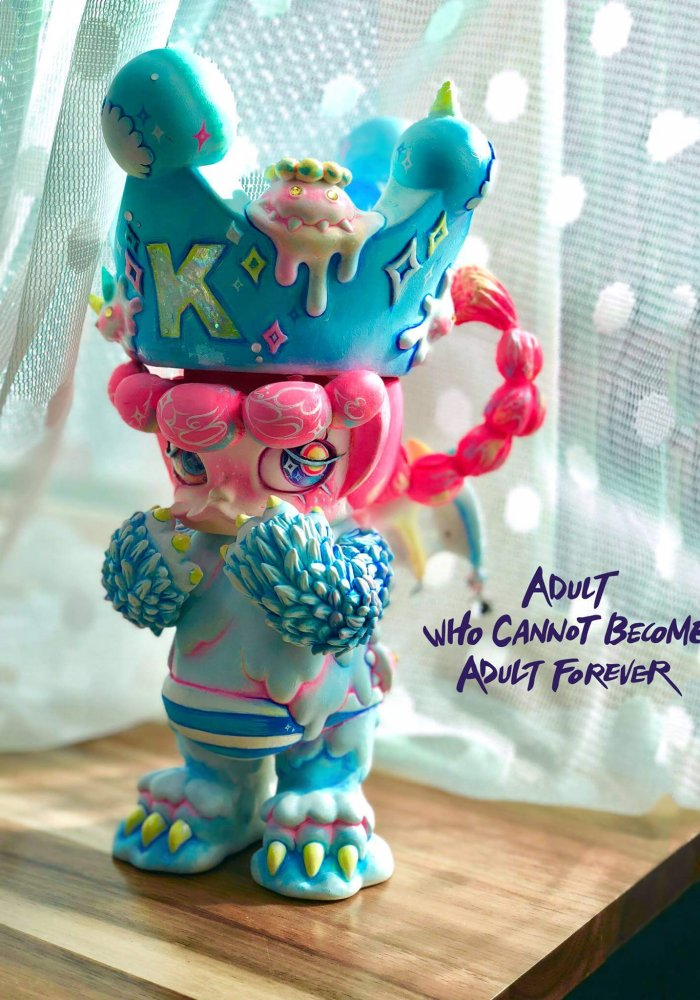 Adult who cannot become adult forever Erosion Molly By rakTANG x Kennyswork x Instinctoy the toy chronicle