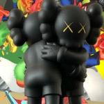 together-kaws-vinyl-black