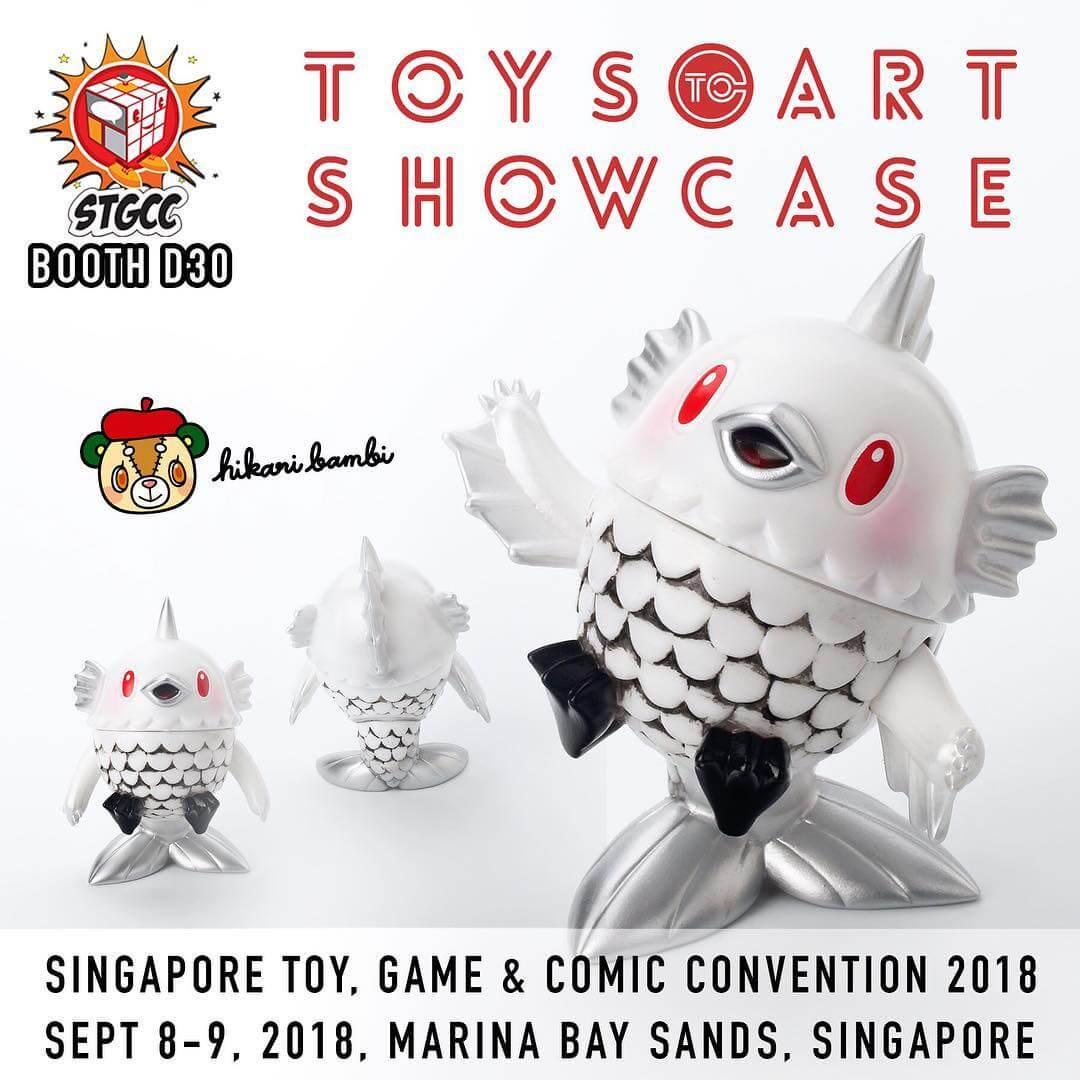 Toys to Art Showcase Collection series-STGCC-3