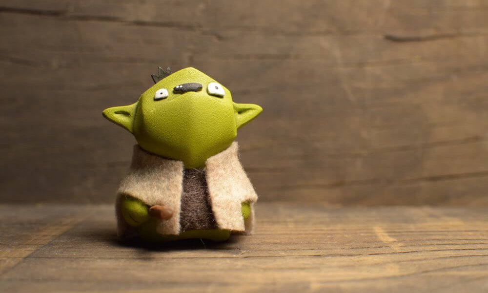YODMICRO By Frank Montano YODA STAR WARS RESIN TOY