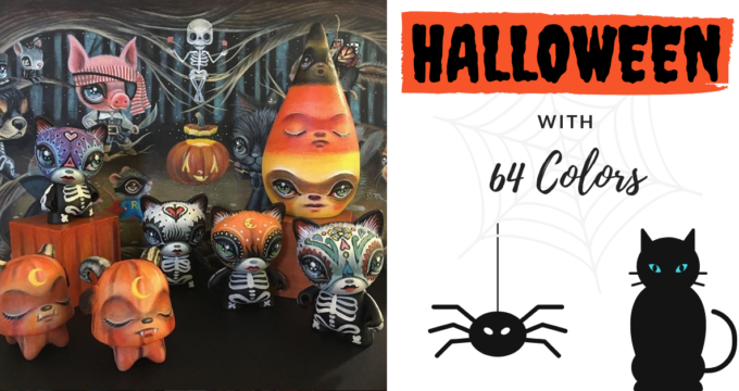 Halloween Release 64 colors