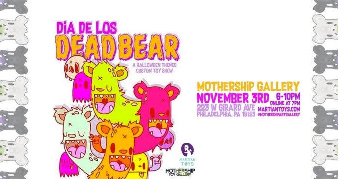 Dia de Los Dead Bear